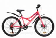 Велосипед ST 24« Discovery FLINT DD с крылом Pl 2020 (розовый)
