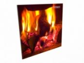 Керамический обогреватель «Кам-иН» easy heat 600*600 в гостиную с рисунком