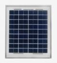 Cолнечная батарея (панель) 10Вт 12В поликристаллическая. Произодитель- Perlight Solar Co.