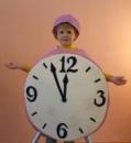 маскарадный костюм часы