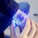 Силиконовые часы geneva со светодиодной подсветкой,