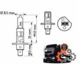 Автомобильная лампа H1 24V (70W) P14,5s