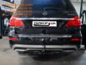 Тягово-сцепное устройство (фаркоп) Mercedes GL (X166) (2012-2016)