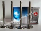 T-образные облегченные клапана (впуск, комплект 4 шт.) AMP (Азот.) ВАЗ 2108, 2109, 21099 (1,1 и 1,3 л.)