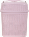 Бак для мусора Ucsan Plastik M-1022-Pink 5 л розовый