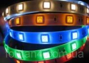 Светодиодная лента 5050 60шт/м синяя 5метров.