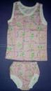 Комплект (маечка, трусики), розовые, р.1-2 года