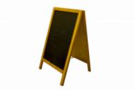 Штендер деревяный двухсторонний 50 х 80 см (00322)