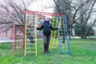 Спортивный комплекс «Богатырь» на улицу в детский садик турбазу для зоны отдыха