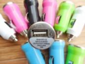 Автомобильная зарядка 2 USB - 1A
