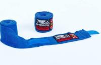 Бинты боксерские BAD BOY (3м) BВ-5321B синий