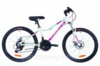 Велосипед 24« Formula ACID 1.0 AM 14G DD Al 2019 (бело-малиновый с голубым)