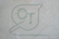 Глянцевая пленка ПЭТ Лилия белая для МДФ фасадов и накладок.