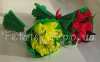 Букет из конфет Тюльпаны 7 шт