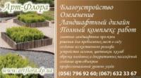 АРТ-ФЛОРА Благоустройство Озеленение Ландшафтный дизайн в Днепропетровске