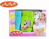 Трусики детские для девочек набор 3 шт. «Животные» трусы, бренд «ААА» (Венгрия)