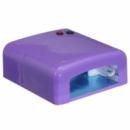 Ультрафиолетовая лампа для ногтей с таймером UKC K818 36 Вт Фиолетовый