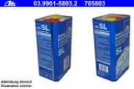 ATE 03.9901-5803.2 Тормозная жидкость dot4 Канистра 5л