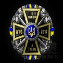 Нагрудний знак «За Україну, За її Волю-АТО 2015»