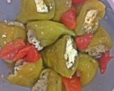 Зеленый перец БЕЛЛ фаршированный сыром «Bell Pepper With Ch.Cream Green» 1,3кг