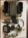 Комплект ЭБУ блок управления двигателем мозги Mr140 на Авео Т200, 96417550