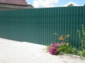 Забор из профнастила Луцк
