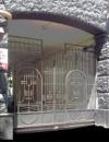 Кованые ворота. Киев, Крепостной переулок