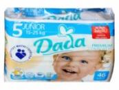 Подгузники DADA Premium Comfort FIT 5 (15-25кг) 46шт