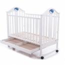 Детская кроватка Baby Care BC-433 М белая