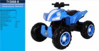 Квадроцикл TY2888-B СИН (1шт)аккум., 12V10AH, MP3, USB, колеса EVA, в кор. 97*70*52см