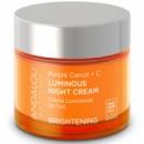Осветляющий ночной крем с витамином с и пурпурной морковью