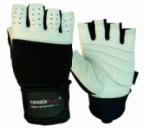 Рукавички для фітнесу PowerPlay 1069 Чорно-Білі M