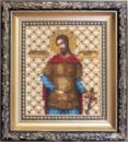 Набор для вышивки бисером Икона святой великомученик Никита