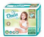 Подгузники Dada extra soft 6 EXTRA LARGE от15 кг. 38шт.