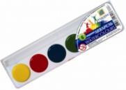 Акварельные краски 6 цветов Серия «Луч Украина»