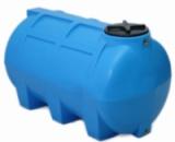 Купить горизонтальные пластиковые бочки для хранения воды на 250 литров.