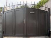 Ворота распошныее с внутреней калиткой (вр-4)