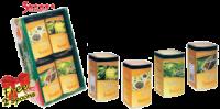 Чай Тарлтон Набор «5 звезд» с двумя ложками в подарок, 4 ж/б по 100 г