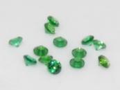 Фианит (цирконий) круг 1,5 мм, зеленый