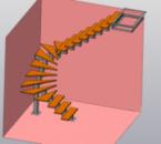 Проект металлическая лестница на второй этож