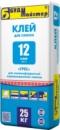 Клей-12, для керамогранита, большой плитки и др материалов с водопоглощением до 1%, для наружн и внутр работ, 25кг