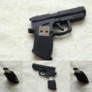 Сувенирная USB флешка Пистолет 8 Gb