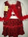 Платье с желеткй