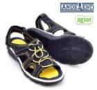 Босоножки (сандалии) спортивного типа подростковые открытый носок, бренд «Lands`End» (Америка)