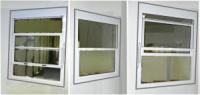 Канадские окна из холодной подъемной системы профилей .