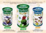 Чай зеленый и черный фруктовый КОПИЛКА 100 г жб Тарлтон