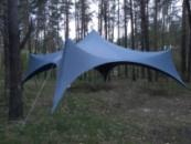 Шатер в аренду, палатка на прокат «Спайдер» аренда шатра на 50-100человек Киев.
