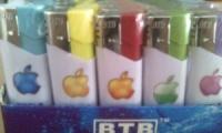 Зажигалки Apple Турбо без фонарика и без крышки