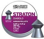 Пули пневматические JSB MATCH DIABOLO Straton 0,535 г ( 500 шт.) к.4,5мм
