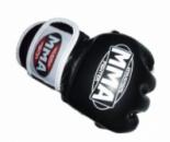 Перчатки без пальцев кожаные MMA FAITO
